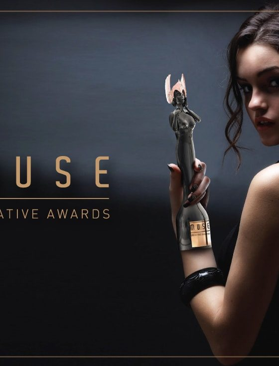 Muse Award Website design 2018