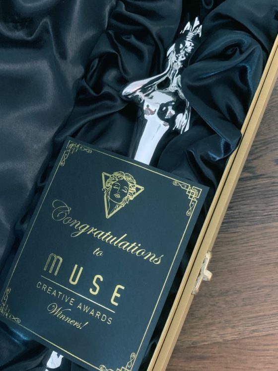 Image of Kairos MUSE Creative Award.