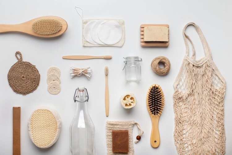 Bamboo bath accessories and other supplies