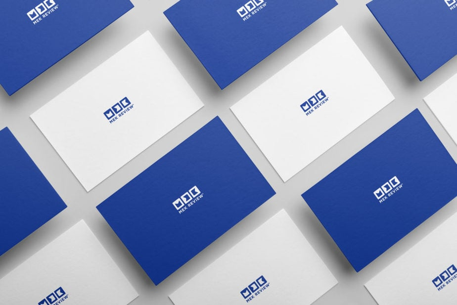 MEK Review Business Cards